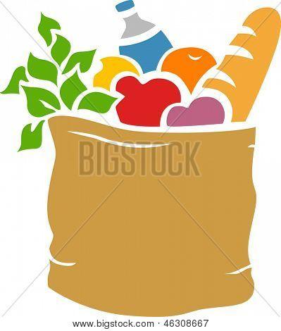 tienda de abarrotes bag victorinox bag vector icon